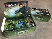 18 x Zendikar Rising DRAFT Booster Packs New from Factory Sealed 1st Edition Box