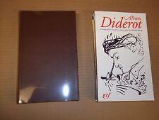 ALBUM Denis DIDEROT DE LA PLEIADE (2004) TBE