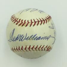 1960's Ted Williams Willie Mays Carl Yastrzemski HOF Signed Baseball JSA COA