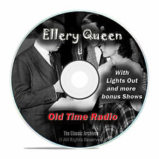 Ellery Queen Minute Mysteries, 231 Episodes Old Time Radio Drama OTR DVD MP3 F89