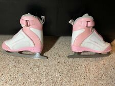 SOFTEC PINK YOUTH 12 FIGURE SKATES