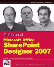 Professional Microsoft Office SharePoint Designer 2007-ExLibrary