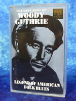 WOODY GUTHRIE The Very Best Of RARE AUDIO CASSETTE TAPE ALBUM Folk Blues