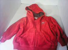 Toddler boy Red zip up Nike hoodie size 24 months