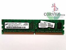 512MB Micron DDR2-400MHz PC2-3200U Non-ECC Unbuffered MT16HTF6464AY-40EB2