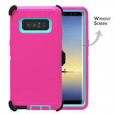 PK TL For Samsung Galaxy Note 8 Defender Rugged Case Cover w(Clip Fits Otterbox)