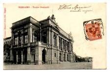 BERGAMO TEATRO DONIZZETTI VIAGGIATA  1901 SIBILIA