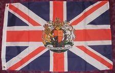 Royal Crest Flag 3x2 Union Jack Great Britain British Jubilee Monarchy UK bnip