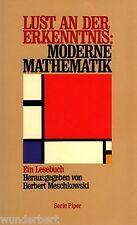 b~ LUST sulla CONOSCENZA - Moderno MATEMATICA - Prod. (H). MESCHKOW SCI tb (1991