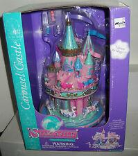 #6110 NRFB Vintage Trendmasters Starcastle Carousel Castle Playset