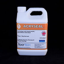 Floortech Products - Acryseal Clear Floor Seal / Varnish - 2.5 Litres