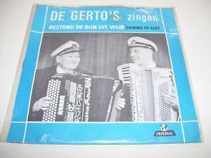 """De Gerto's - Bestond de rijn uit wijn 7"""" vinyl Imperial"""