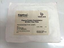 CAPTIVA A5960045SPL PLASMA PROTEIN PRECIPITATION 96-WELL FILTER PLATE NEW