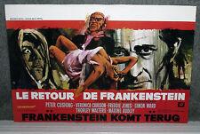 FRANKENSTEIN MUST BE DESTROYED original movie poster PETER CUSHING rare HAMMER