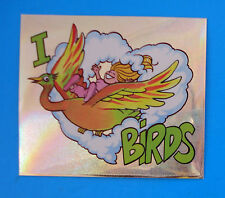 ECO STICKERS Panini 1990 - Figurina-Sticker - I LOVE BIRDS 20 -Nuova-New
