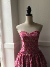 Laura Ashley Party Dress Vintage Size 10 8 -10 REDUCED