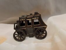 DIE-CAST PENCIL SHARPENER, MINIATURE STAGE COACH WITH LUGGAGE