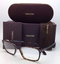 New TOM FORD Eyeglasses TF 5295 052 56-17 Matte & Shiny Tortoise Frame w/ Clear