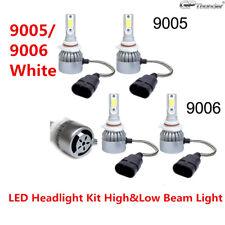 4Pcs Combo LED Headlight Kit Bulbs For Pontiac Grand Prix 2008-2004 White 6000K