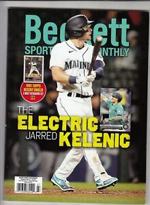 July 2021 Beckett Sports Card Monthly with Jarred Kelenic on Cover