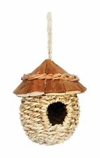 PREVUE WOOD ROOF HUT NEST SMALL BIRD BREEDING TENT INDOOR/OUTDOOR FREE SHIP  USA