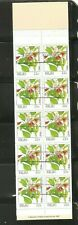 Palau, SC # 132a Indigenous Flowers. Overprinted Koror, Complete Booklet . MNH