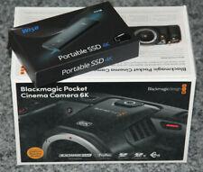 Blackmagic Cinema Camera Pocket 6K + Wise Portable SSD 512 GB vom Fachhändler