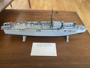 "Pro Built 1/72 Airfix WW2 German ""E"" Boat or ""S"" Boat 21"" long Mint!"