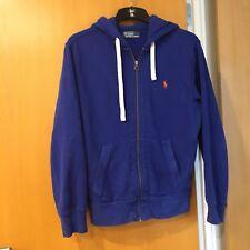 Polo Ralph Lauren Mans Hoody Royal Blue Size Medium