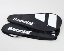 """Set of 2 New Babolat Tennis Racquet Covers Carrier Bags Black and White 29.75"""""""