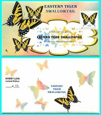 Eastern Tiger Swallowtail First Day Cover with Color Cancel