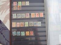 Lot de 24 timbres - Roumanie jusqu'à 1900