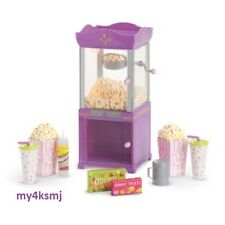 American Girl MOVIE POPCORN MACHINE for Dolls CANDY Drinks + more SAME DAY SHIP