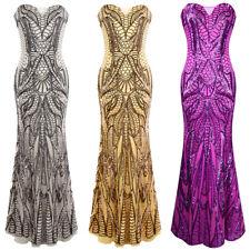 Angel-fashions Womens Column Evening Dresses Off Shoulder