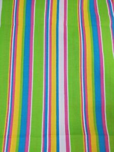 1 Yd Spring Industries Spring Living Daisy Coordinate #7284 Fabric Bright STRIPE