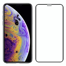 For iPhone 11 Pro Max 2019 Full Coverage Tempered Glass Screen Protector Cover