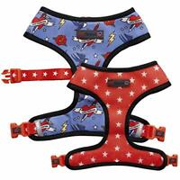 Love Frenchie - French Bulldog Reversible Harness (Sailor Jerry, Large)