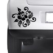 Hibiscus Car Vinyl Window Bumper Wall Laptop Macbook Xbox PS4 Decal Sticker