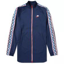 BNWT Size 2XL XXL Men's Nike Taped Poly Track Blue Jacket AJ2681-451