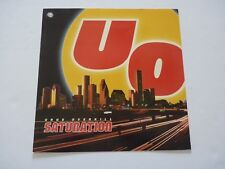 Urge Overkill UO Saturation LP Record Photo Flat 12x12 Poster