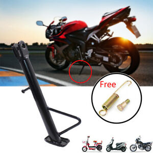 Universal Motorcycle Scooter Side Stand Leg Kickstand Supporter Aluminum Kits