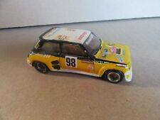 397H Mini Racing 47 Renault 5 Turbo 1980 # 98 Rallye 1:43