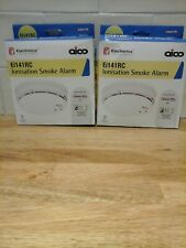 2 × Aico Ei141RC Ionisation Smoke Alarm expires 2031