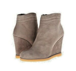 STUART WEITZMAN Suede BOOTS Size: 11 M (US) (EUR 42) New SHIP FREE Wedge Gray