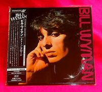 Bill Wyman Stone Alone JAPAN MINI LP CD TECI-24301