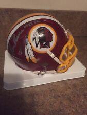 Ron Rivera HTTR AUTOGRAPHED SIGNED NFL Speed RIDDELL Mini Helmet REDSKINS Proof