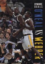 1994-95 SkyBox Premium #187 Chris Webber DD Shaquille O'Neal Card