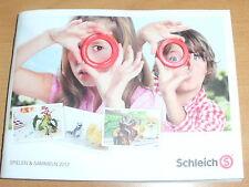 Kleiner Gesamtkatalog von Schleich 2012 mit dem Jahresprogramm