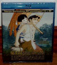 LA TUMBA DE LAS LUCIERNAGAS COMBO BLU-RAY+DVD NUEVO PRECINTADO (SIN ABRIR) R2