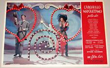 set completo fotobuste film CAROSELLO NAPOLETANO Giannini Loren Rondinella 1954